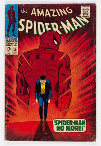 The Amazing Spider-Man #50 (Marvel, 1967) Condition: GD+