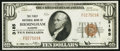 National Bank Notes:Alabama, Birmingham, AL - $10 1929 Ty. 1 The First NB Ch. # 3185. ...