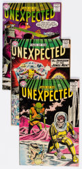 Silver Age (1956-1969):Horror, Tales of the Unexpected Group of 13 (DC, 1958-62) Condition:Average VG+.... (Total: 13 Comic Books)