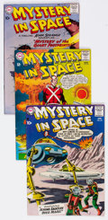 Silver Age (1956-1969):Science Fiction, Mystery in Space Group of 25 (DC, 1958-64) Condition: AverageFN+.... (Total: 25 Comic Books)