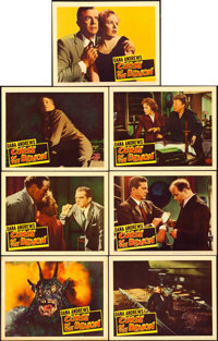 "Curse of the Demon (Columbia, 1957). Lobby Cards (7) (11"" X 14""). Horror. ... (Total: 7 Items)"