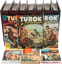 Turok, Son of Stone Complete Run Plus Group in 7 Binders (Dell/Gold Key/Whitman/Valiant, 1955-94) Condition: Average VG...