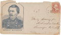 Political:Small Paper (pre-1896), George B. McClellan: Rarely-Seen Postally-used Civil War Cover. ...