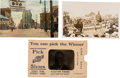 Political:Small Paper (1896-present), Theodore Roosevelt: Three Great 1912 Postcards, Including Roosevelt& Johnson.... (Total: 3 Items)