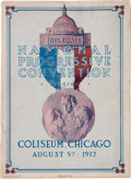 Political:Small Paper (1896-present), [Theodore Roosevelt]: 1912 National Progressive Convention Program....