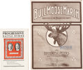 Political:Small Paper (1896-present), Theodore Roosevelt: Jugate Song Book and Sheet Music....