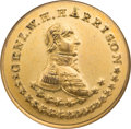 Political:Tokens & Medals, William Henry Harrison: Pristine Portrait Clothing Button....