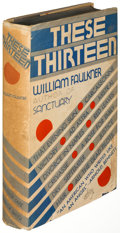 Books:Literature 1900-up, William Faulkner. Pair of Harrison Smith Short StoryCollections. New York: [1931-1934]. First editions....(Total: 2 Items)