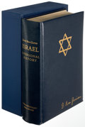 Books:Judaica, David Ben-Gurion. Israel: A Personal History. New York: [1971]. First edition, limited to 2,000 copies and s...