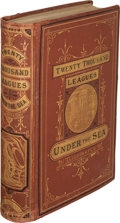Books:Science Fiction & Fantasy, Jules Verne. Twenty Thousand Leagues under the Seas. Boston:James R. Osgood and Company, 1873. First U. S. edition....