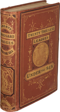 Jules Verne. Twenty Thousand Leagues under the Seas. Boston: James R. Osgood and Company, 1873