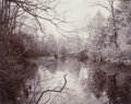 Photographs, Linda Connor (American, b. 1944). Silvermine River, Connecticut, 1978. Toned gelatin silver. 7-3/4 x 9-1/2 inches (19.7 ...