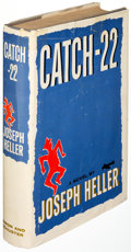 Books:Literature 1900-up, Joseph Heller. Catch-22. New York: 1961. First edition,signed bookplate and typed note laid in....