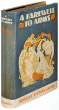 Books:Literature 1900-up, Ernest Hemingway. A Farewell to Arms. New York: 1929. First edition....