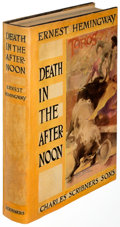 Books:Literature 1900-up, Ernest Hemingway. Death in the Afternoon. New York: 1932. First edition....