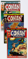 Bronze Age (1970-1979):Adventure, Conan the Barbarian/Kull the Conqueror Group of 52 (Marvel, 1970s-80s) Condition: Average FN.... (Total: 52 Comic Books)