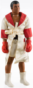 Boxing Collectibles:Memorabilia, 1976 Muhammad Ali's Boxing Ring & Ali Action Figure Doll, Both New in Box. . ...