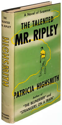 Patricia Highsmith. The Talented Mr. Ripley. New York: [1955]. First edition