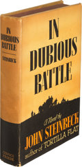 Books:Literature 1900-up, John Steinbeck. In Dubious Battle. New York: Covici-FriedePublisher's, 1936. First edition....