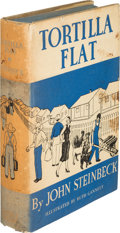 Books:Literature 1900-up, John Steinbeck. Tortilla Flat. New York: Covici-FriedePublishers, [1935]. First edition, review copy, with publishe...