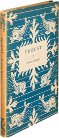 Books:Literature 1900-up, Samuel Beckett. Proust. London: Chatto & Windus, 1931. First edition, presentation copy, inscribed by the author ...