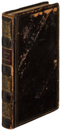 Books:Literature Pre-1900, [James Fenimore Cooper]. Oliver Goldsmith. The Vicar ofWakefield. London: [circa 1820s?]. Later edition, inscribed ...