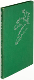 Books:Literature 1900-up, William Faulkner. Notes on a Horse Thief. Greenville: 1950. First edition, limited to 975 copies and signed....