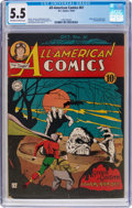 Golden Age (1938-1955):Superhero, All-American Comics #61 (DC, 1944) CGC FN- 5.5 Off-white to white pages....