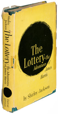Shirley Jackson. The Lottery. New York: 1949. First edition, second printing; presentation copy