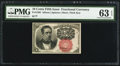 Fractional Currency:Fifth Issue, Fr. 1266 10¢ Fifth Issue PMG Choice Uncirculated 63 EPQ.. ...