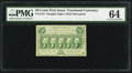 Fractional Currency:First Issue, Fr. 1312 50¢ First Issue PMG Choice Uncirculated 64.. ...