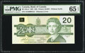 Canadian Currency: , BC-58a-ii $20 1991 with Low Serial Number AIA0000154. ...