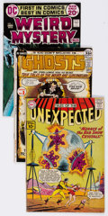 Silver Age (1956-1969):Horror, DC Horror Group of 62 (DC, 1961-82) Condition: Average FN....(Total: 62 Comic Books)