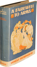 Books:Literature 1900-up, Ernest Hemingway. A Farewell to Arms. New York: CharlesScribner's Sons, 1929. First edition, first printing, withou...