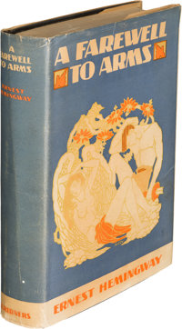 Ernest Hemingway. A Farewell to Arms. New York: Charles Scribner's Sons, 1929. First edition, f
