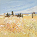 Fine Art - Painting, American:Contemporary   (1950 to present)  , Nancy Wissemann-Widrig (American, b. 1929). Autumn WhiteCreeks, 1976. Oil on canvas. 50 x 50 inches (127 x 127 cm).Sig...