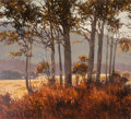 Fine Art - Painting, American:Contemporary   (1950 to present)  , Don Irwin (American, 1933-1998). California Landscape, 1974.Oil on canvas. 46 x 51 inches (116.8 x 129.5 cm). Signed an...