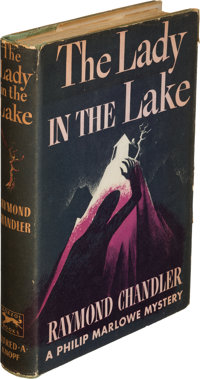 Raymond Chandler. The Lady in the Lake. New York: Alfred A. Knopf, 1943. First edition; asso