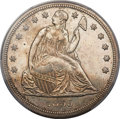 Seated Dollars, 1859-S $1 -- Cleaned -- PCGS Genuine. Unc Details. OC-1, R.2....