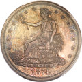 Proof Trade Dollars, 1874 T$1 PR63 PCGS....