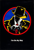"Movie Posters:Action, Dick Tracy (Buena Vista, 1990). One Sheet (27"" X 40"") DS Teaser ""I'm On My Way"" Style. Action.. ..."