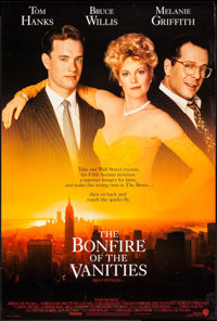 """The Bonfire of the Vanities & Others (Warner Brothers, 1990). One Sheets (2) (27"""" X 39.75"""", 27"""" X 40..."""