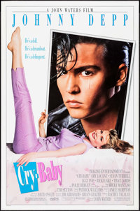 "Cry-Baby & Others Lot (Universal, 1990). One Sheets (3) (27"" X 41"", 27"" X 40"") DS. Comedy. ... (..."