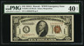 Small Size:World War II Emergency Notes, Fr. 2303 $10 1934A Hawaii Federal Reserve Note. PMG Extremely Fine40 EPQ.. ...