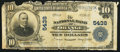National Bank Notes:Virginia, Orange, VA - $10 1902 Plain Back Fr. 633 The NB of Orange Ch. #5438. ...
