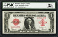 Large Size:Legal Tender Notes, Fr. 40 $1 1923 Legal Tender PMG Choice Very Fine 35.. ...