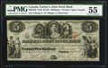 Canadian Currency: , Canada Toronto, UC - The Farmer's Joint Stock Bank $5 Feb. 1, 1849 Ch. # 280-12-06.. ...