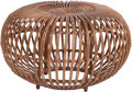 Furniture : Continental, A Franco Albini Rattan Footstool, mid-20th century. 14 inches highx 24 inches diameter (35.6 x 61.0 cm). ...