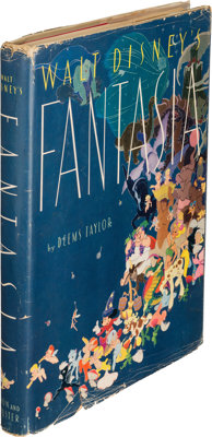 [Walt Disney]. Deems Taylor. Walt Disney's Fantasia. New York: Simon and Schuster, 1940. First