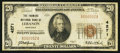 National Bank Notes:Kentucky, Lebanon, KY - $20 1929 Ty. 1 The Farmers NB Ch. # 4271. ...